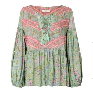 Spell City Lights Blouse NWT Size M